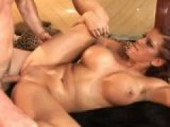 Eve Laurence gets her round booty fucked