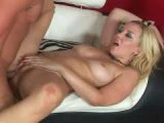 Wild Annette Schwarz gets her pink snatch drilled deep and hard