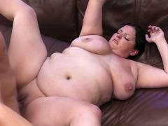 BBW hottie snapped and nailed