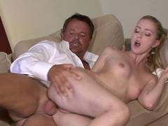Beautiful blonde in debt seen cheating