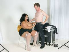 Guy cheats with a black BBW