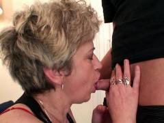 Old lady wants lots of cock