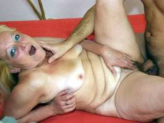 Mature blonde is his lover