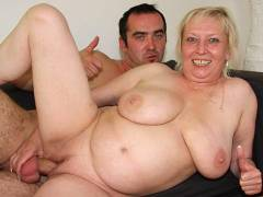 Cock craving granny gets boner