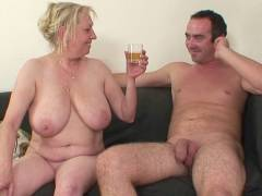 Nude granny and son in law bone