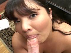 Voluptuous bitch is doggy fucked